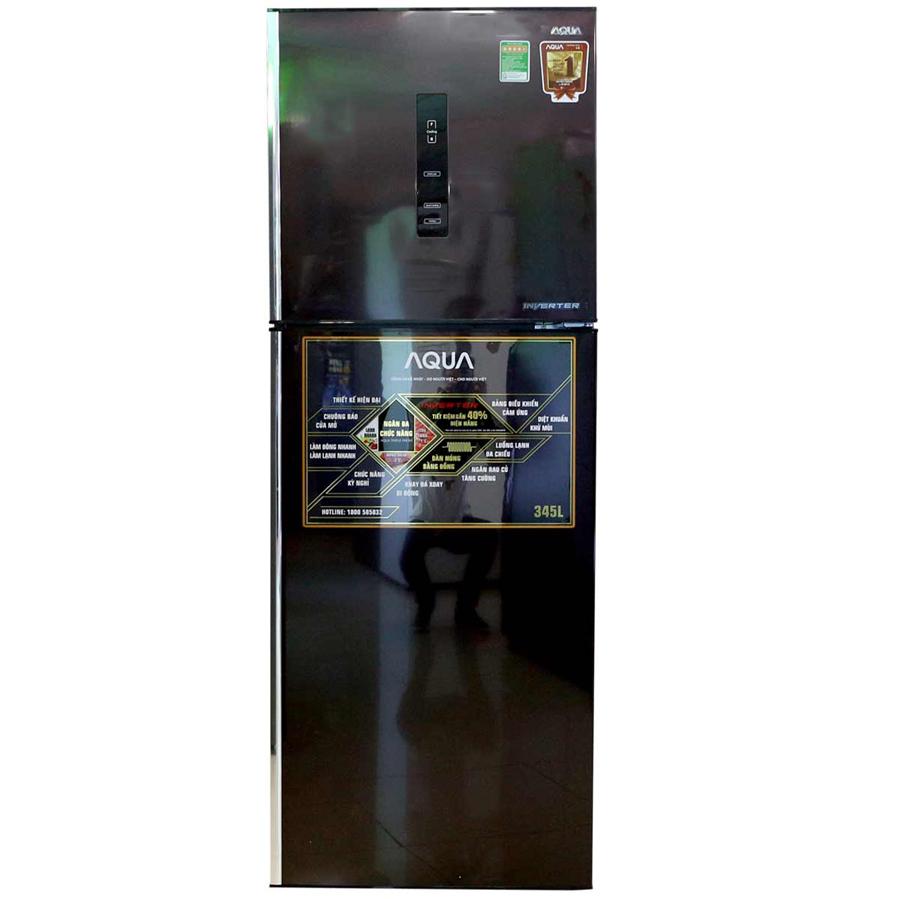 TỦ LẠNH AQUA AQR-IU346BN 345 LÍT 2 CỬA INVERTER