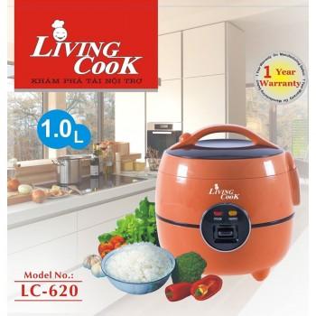 nồi cơm living coock 1.0L - LC620 (chiêc)