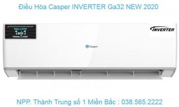 ĐIỀU HÒA CASPER IC-09TL32 INVERTER  1 CHIỀU 9000 BTU/H IC-09TL32